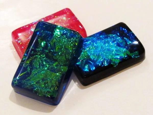 faux resin opal