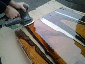 Come Costruire Un Tavolo Di Legno E Resina Resine