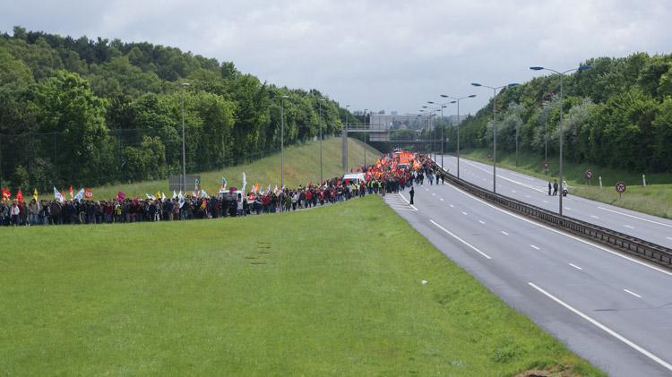 Manifestation 26 Mai 2009 Caen - Photothèque Caen Resistances