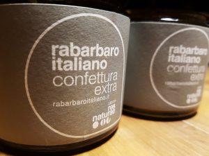 confettura extra rabarbaro italiano marmellata doppia