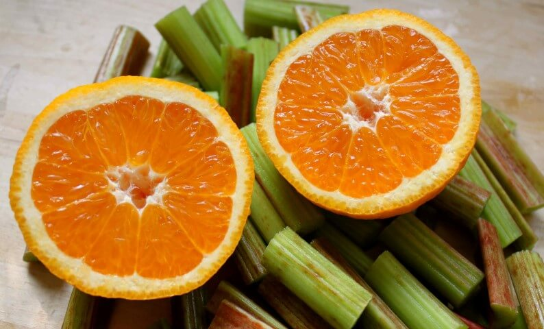 rabarbaro e arancia
