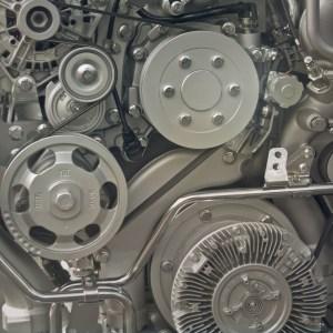 Photo d'un moteur thermlique