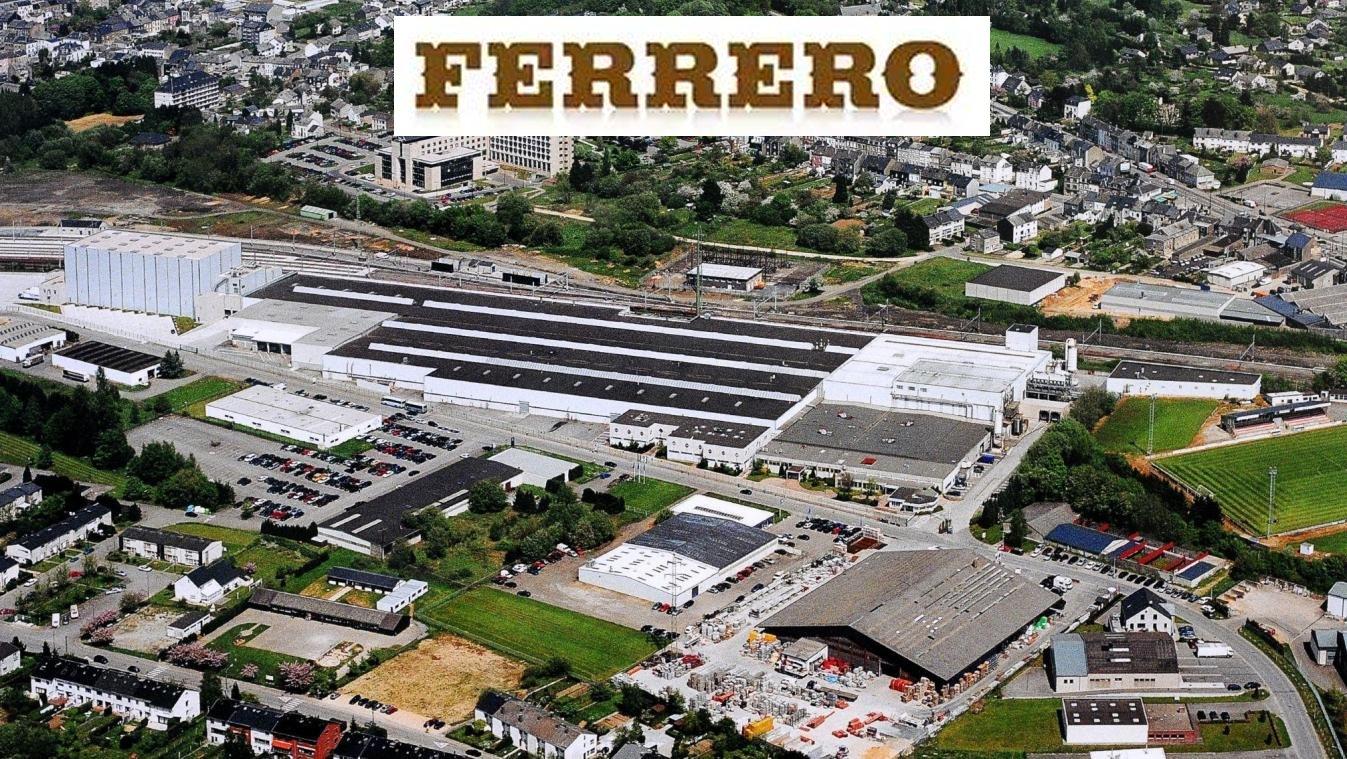 18 juillet 2019 – étude d'incidence et plan d'assainissement acoustique pour l'usine Ferrero d'Arlon