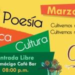 CultivARTE -> Evento 28 de Marzo (Almacigo Café Bar)