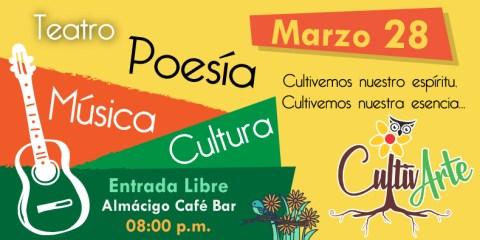 Cultivarte 28 Marzo 02 - Poesía en Quechua porAlcides Ruiz - CultivARTE