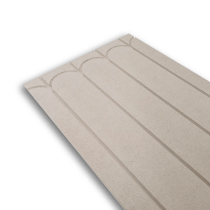 HEATDECK underfloor heating board with returns