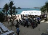 2012年 海開き ビーチにて