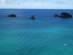 リゾネックス名護 広がる青い海。