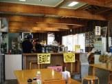 名護漁港 食事処 店内。