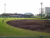 名護市営球場での選手練習風景(昨年撮影)④