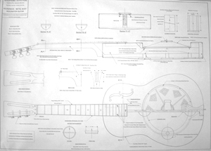 Roundneck Metal Body Resonator Blueprint: Resophonic Outfitters