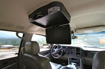 Whistler Luxury SUV Transportation :: DVD & Stereo System :: Vancouver Whistler Shuttle
