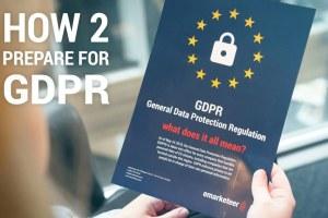 The everyman guide to EU's  General Data Protection Regulation (GDPR)