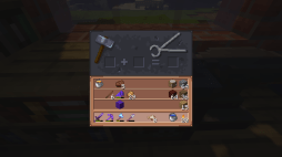 Smithing Table GUI