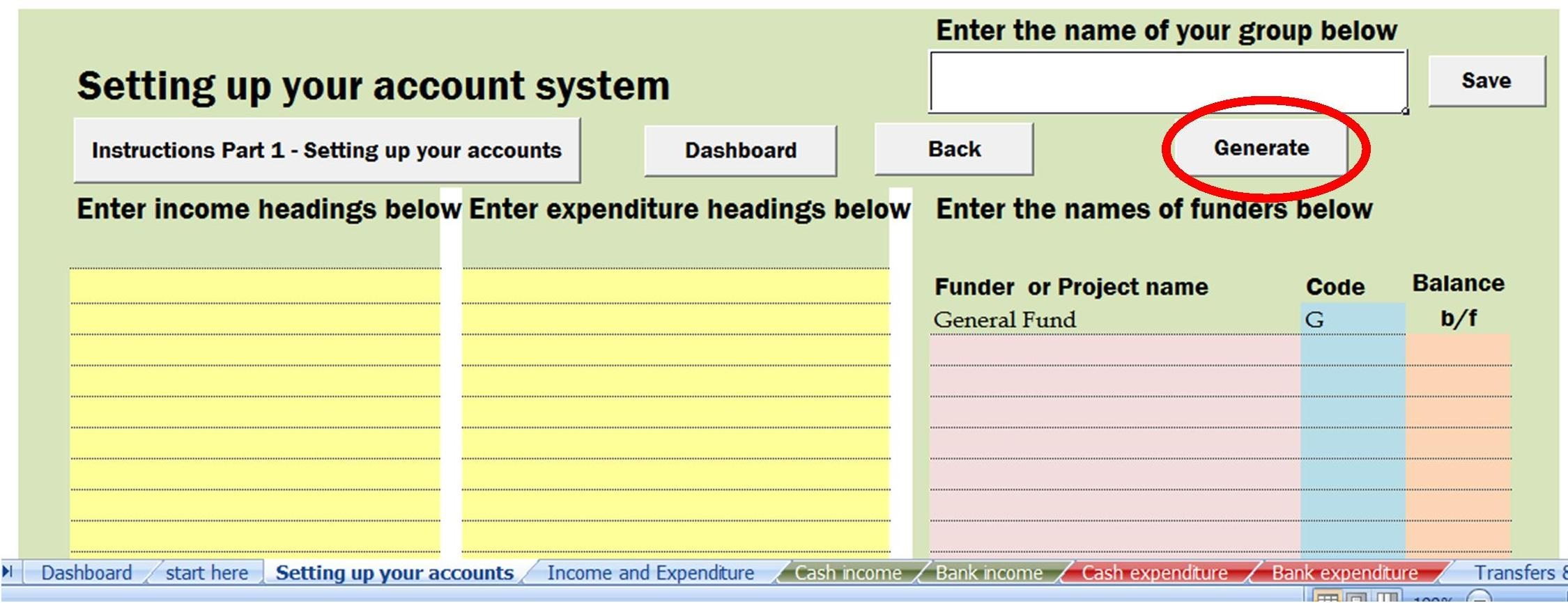 Annual Accounts System With Grant Tracking