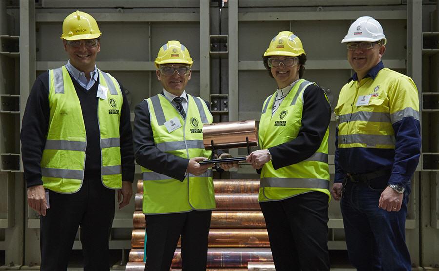 BPH Olympic Dam produces first copper cathode from Heap Leach Pilot Plan