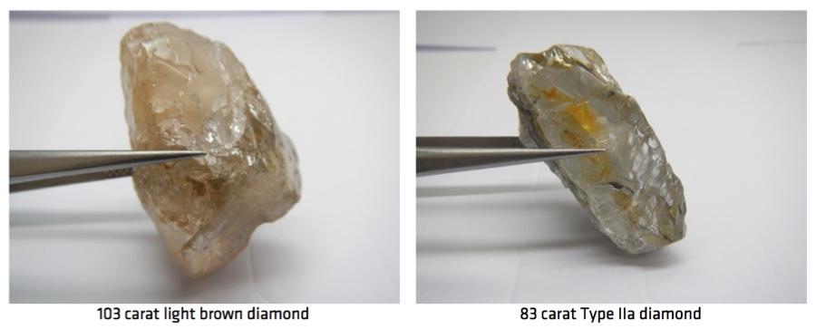 Gem Diamonds, Lucapa kick off 2018 with massive findings