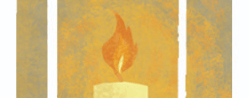 flame from illuminating pathways logo