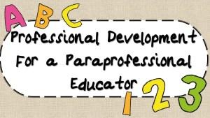 Para-Educator PD