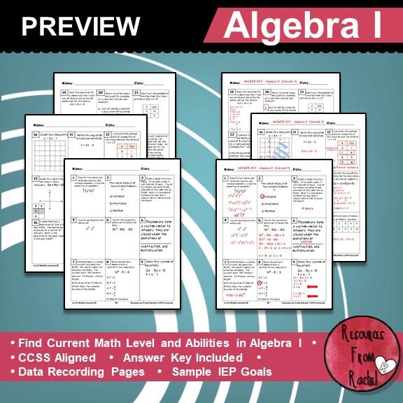 informal-math-assessments-for-algebra-1