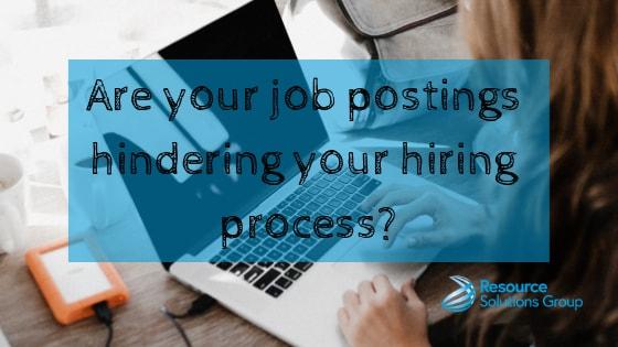 blog title card how to write a job description