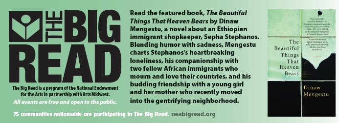 The Big Read has Dinaw Mengestu this month! - Resource Talk