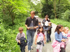 "Excursion with ""Stadnatur Berlin"""