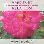 amour et relation