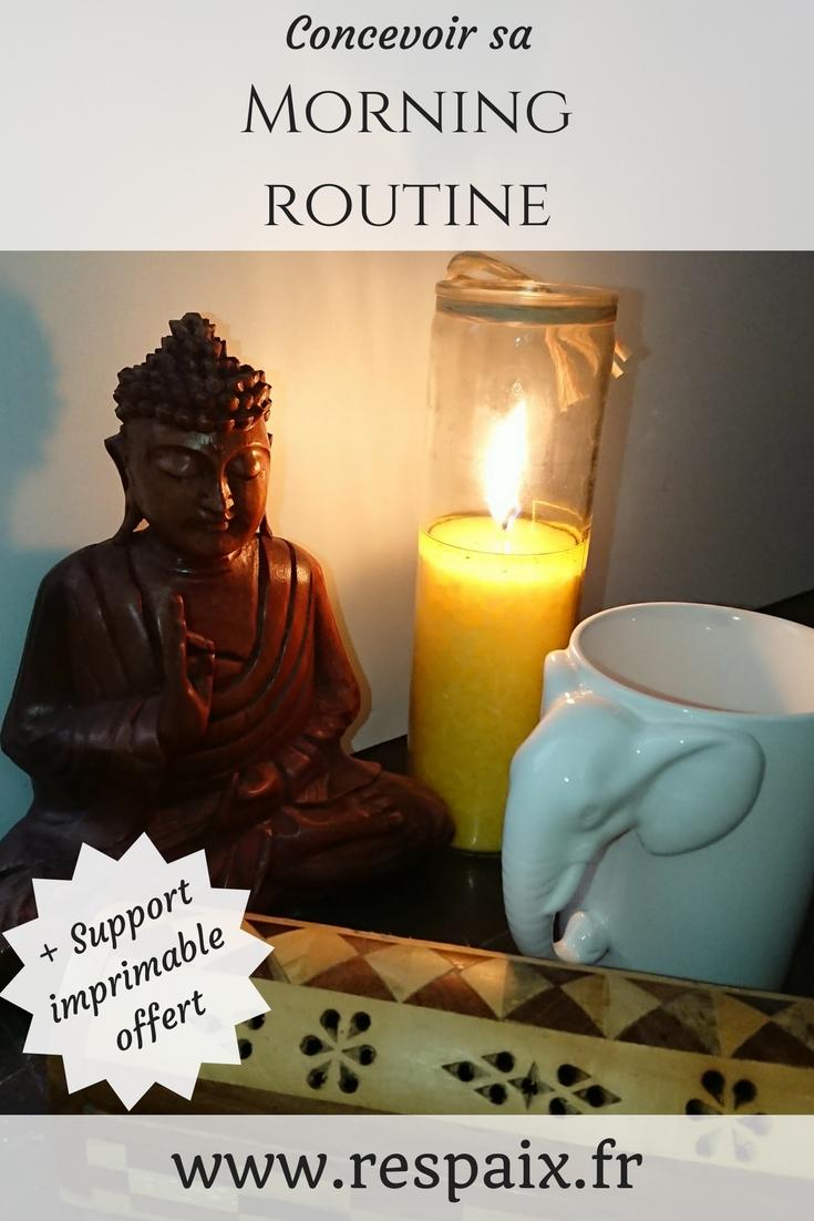 Découvrez comment concevoir votre routine matinale pour bien démarrer la journée. Un outil indispensable pour vous faciliter la tâche vous est offert dans cet article !