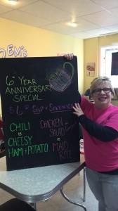 Emilea Hillman celebrates the sixth anniversary of Em's Coffee Co.