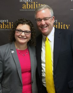 David Trone with Fellow Emma Adelman
