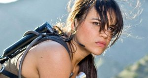 Michelle Rodriguez looking fierce