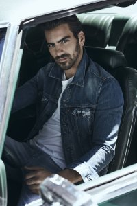 Nyle DiMarco sitting in a car