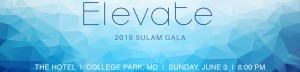 "Text reads ""Elevate 2018 Sulam Gala The Hotel 