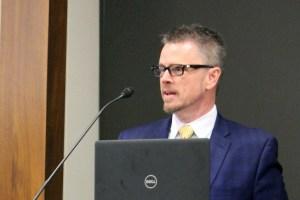 Johnny Collett speaks at RespectAbility's 2018 Summit