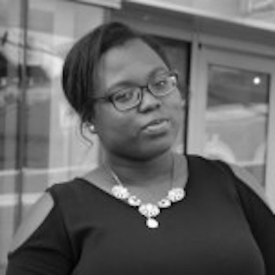 Dahlia Joseph headshot in black and white