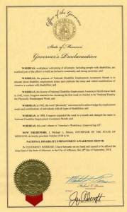Missouri proclamation NDEAM
