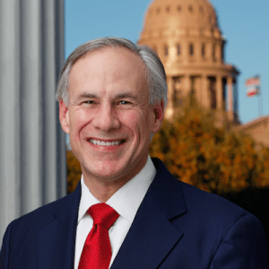 Gov. Greg Abbott headshot