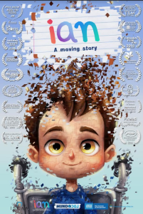 Poster for Ian- a moving story