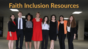 Faith Inclusion Resources. Photo of RespectAbility Jewish staff and Fellows