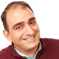 Vincenzo Piscopo smiling