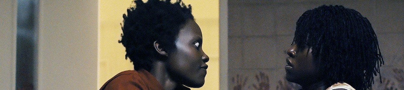 """Lupita Nyong'o in dual roles as Red and Adelaide Wilson in """"Us."""""""