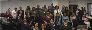 Group photo of attendees at Intersectionality Training