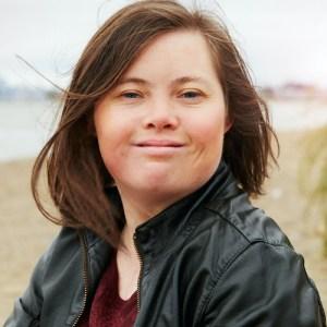 Marissa Erickson headshot on the beach