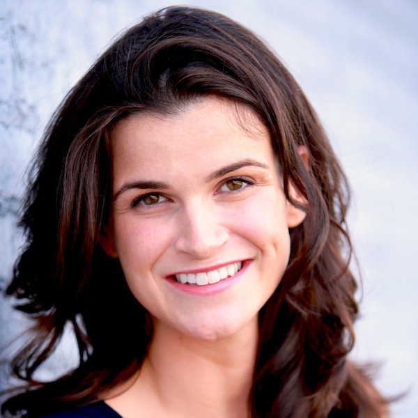 Leah Romond smiling headshot