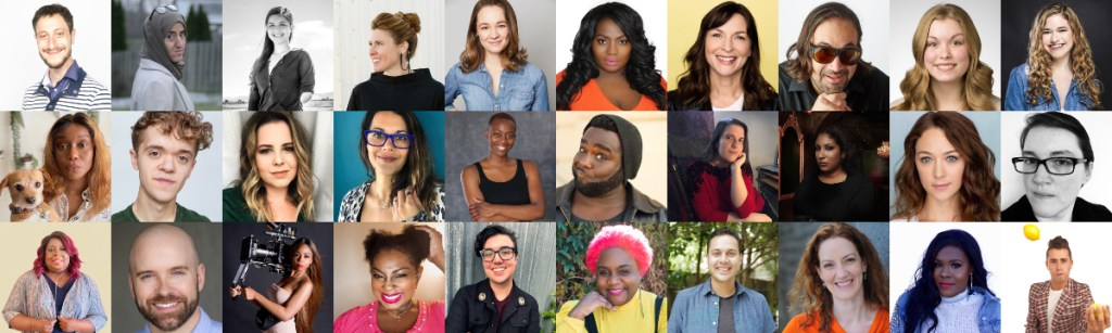 Headshots of 30 participants in RespectAbility's 2021 Summer Lab
