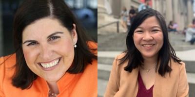Headshots of Lauren Appelbaum and Vanni Le