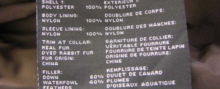 Support Fur Labelling Legislation