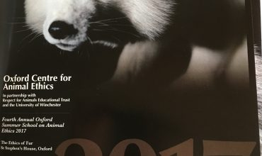 Watch the official video of the Oxford Summer School on Ethics of Fur