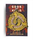 Ghidorah Ghidoroboros Classic Edition Black Enamel Finish Kaiju Gods and Kings Enamel Pin By Respect